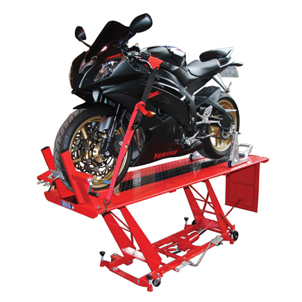Hydraulic Motorcycle Workshop Lift Table